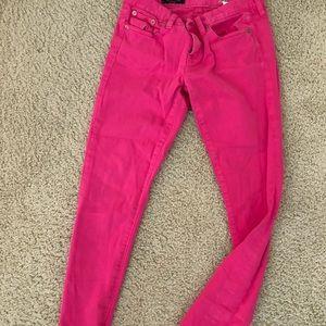 Jcrew pink jeans
